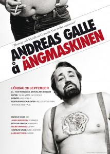 Andreas Galle & Ångmaskinen på Bohusläns museum